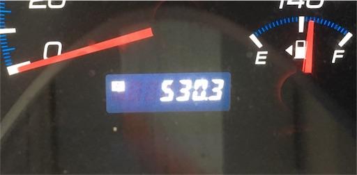 オイル交換後530キロ走行