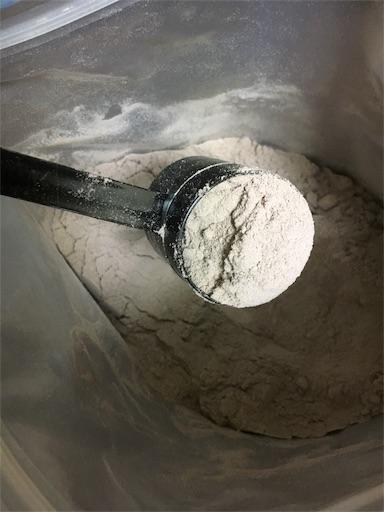 バルクスポーツ・カゼインプロテインは粉の粒子が細かい